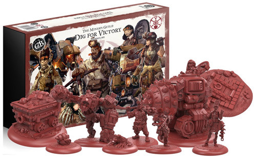 Guild Ball: Miner's Guild - Dig for Victory