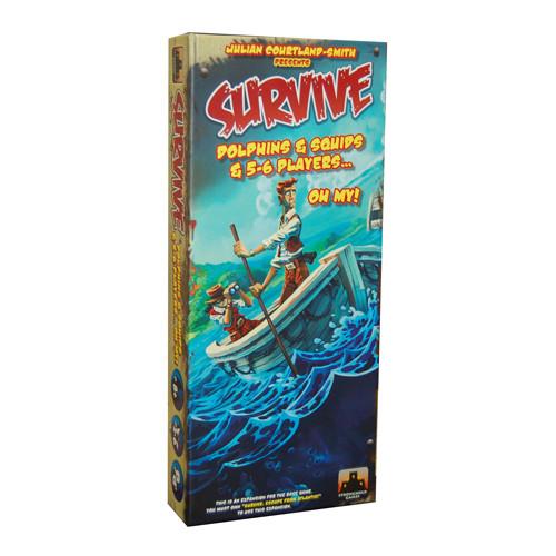 Survive Escape From Atlantis Dolphins, Squids, 5-6 Players Expansion