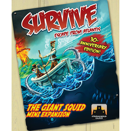 Survive: Escape From Atlantis - The Giant Squid Mini-Expansion