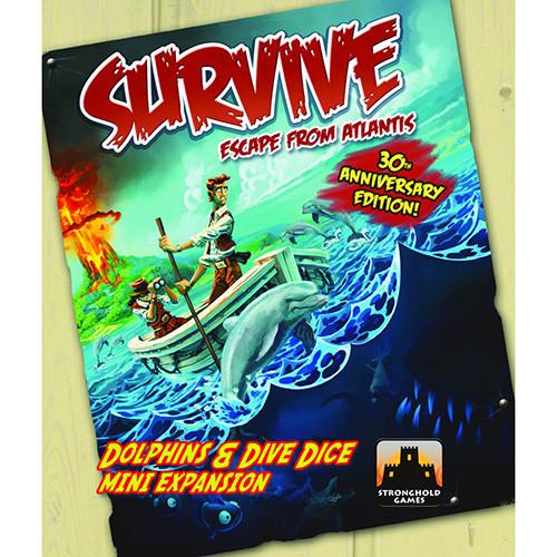 Survive: Escape From Atlantis - Dolphins and Dive Dice Mini-Expansion