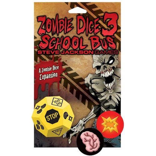 Zombie Dice 3 - School Bus Expansion