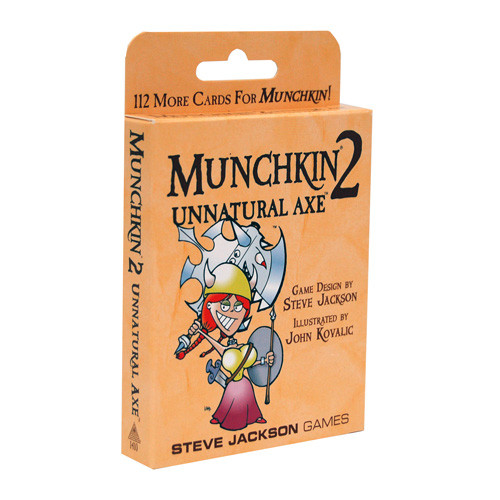 Munchkin 2: Unnatural Axe Expansion