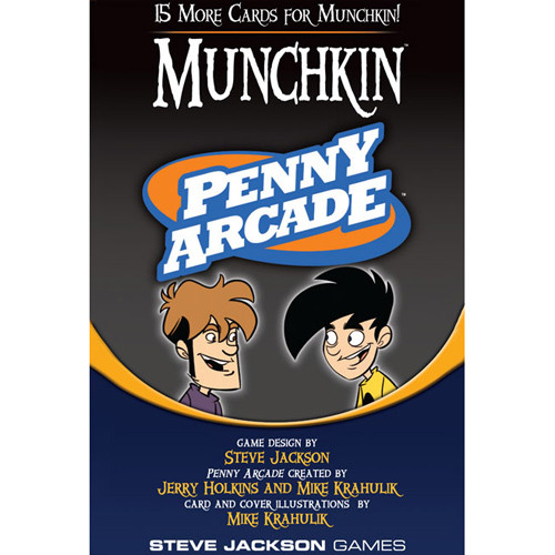 Munchkin: Penny Arcade Booster Pack