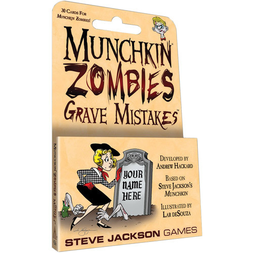 Munchkin Zombies: Grave Mistakes Expansion