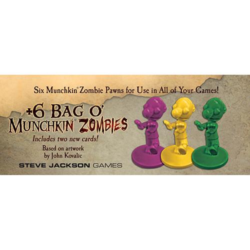 Munchkin: +6 Bag O' Munchkin Zombies