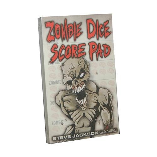 Zombie Dice - Score Pad