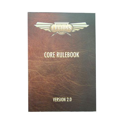 Dystopian Legions: Core Rulebook 2.0 (Softcover)