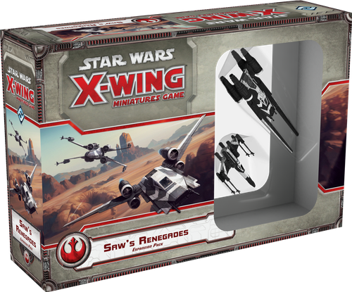 Star Wars: X-Wing - Saw's Renegades Expansion Pack