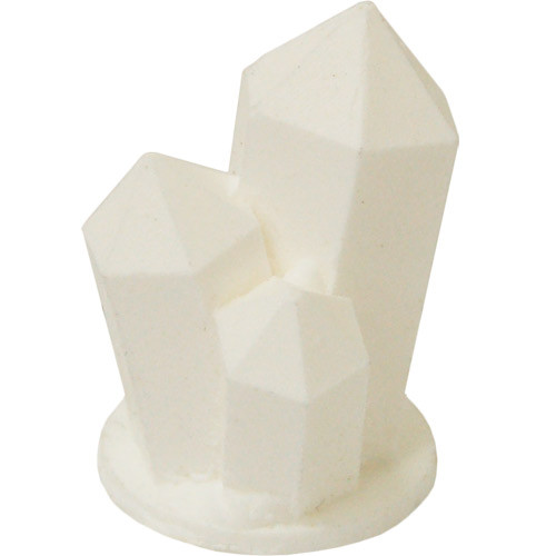 Tiny Terrain: Solid White Crystal (Medium)