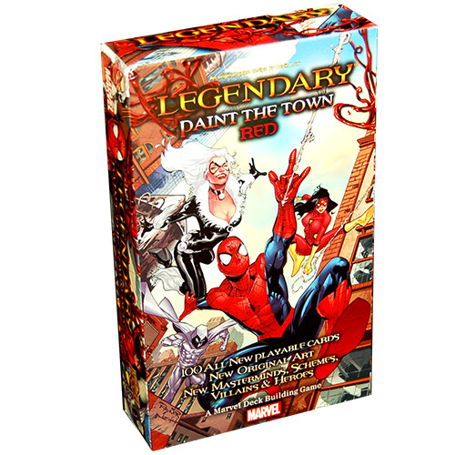 Legendary: Marvel Deck Building Game - Paint the Town Red Expansion