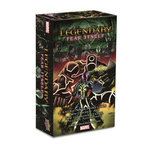 Legendary Villains: Marvel Deck Building Game - Fear Itself Expansion