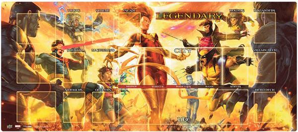 Legendary: Marvel Deck Building Game - Dark Phoenix vs X-Men Playmat