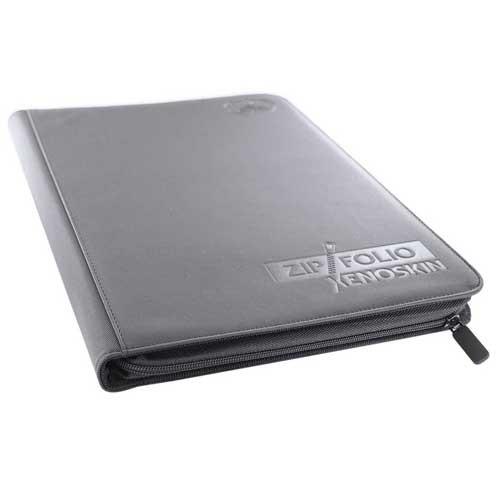 Ultimate Guard 9-Pocket Zipfolio: XenoSkin - Grey