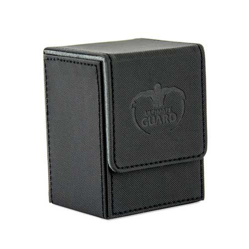 Ultimate Guard Flip Deck Case 80+: XenoSkin - Black