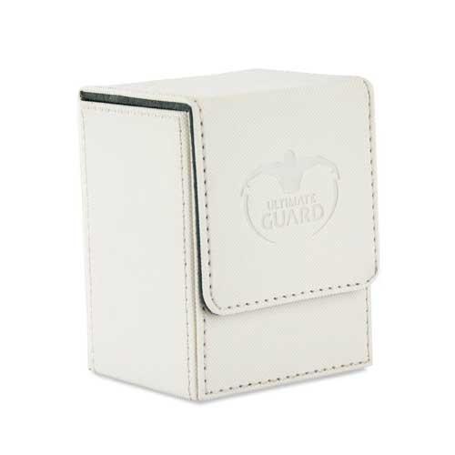 Ultimate Guard Flip Deck Case 80+: XenoSkin - White