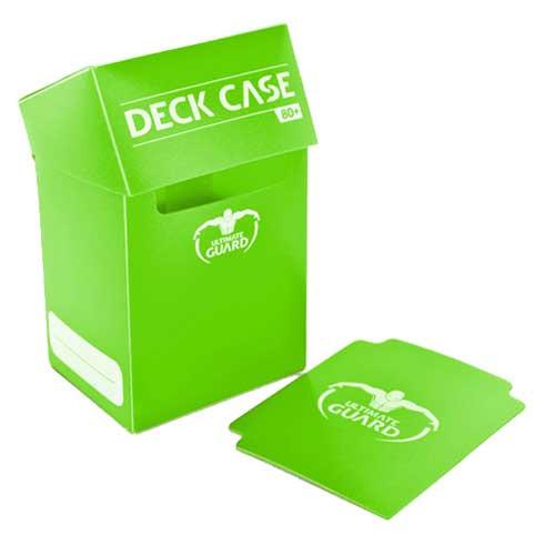 Ultimate Guard Deck Case 80+: Light Green