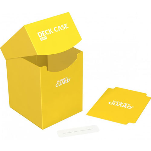 Ultimate Guard Deck Case 100+: Yellow