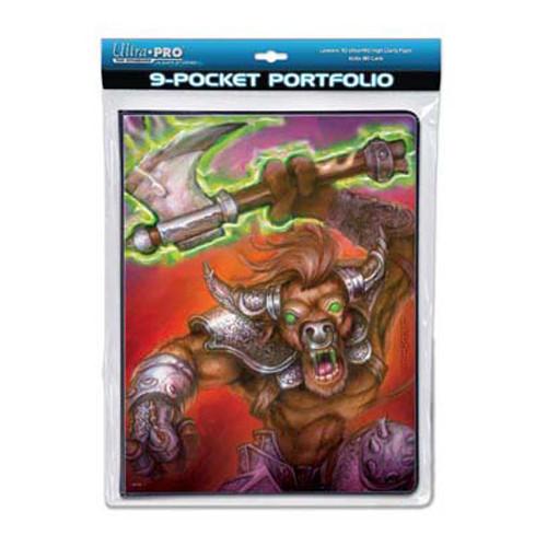 Ultra Pro Binder - 9-Pocket War Beast Portfolio