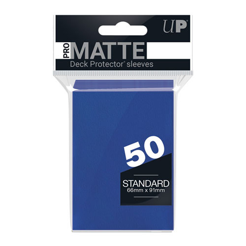 Ultra Pro Sleeves: Pro Matte - Blue (50)