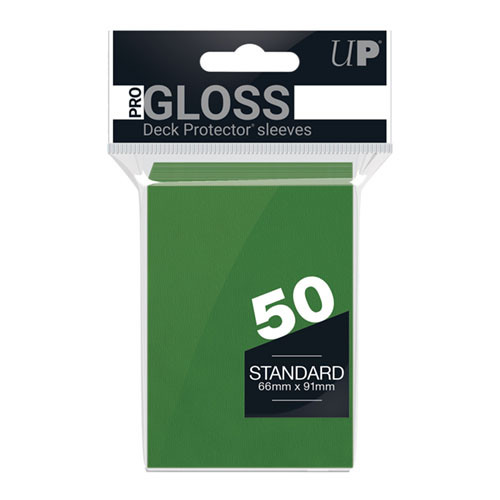 Ultra Pro Sleeves: Green (50)