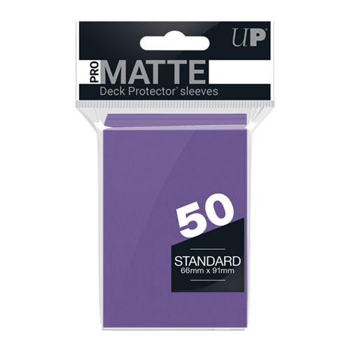 Ultra Pro Sleeves: Pro Matte - Purple (50)