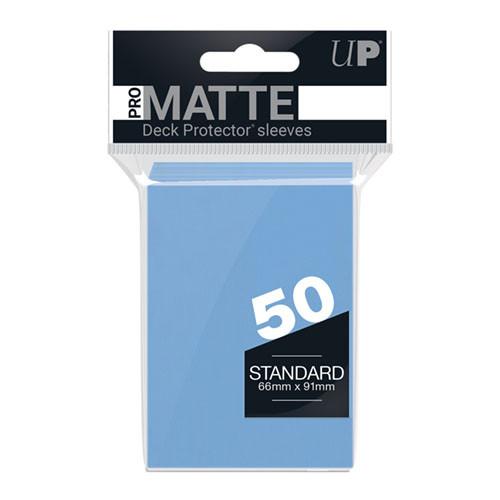 Ultra Pro Sleeves: Pro Matte - Light Blue (50)