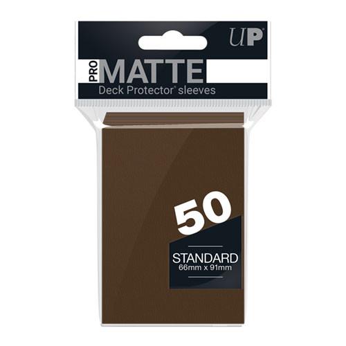 Ultra Pro Sleeves: Pro Matte - Brown (50)