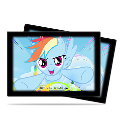 Ultra Pro Small Sleeves: My Little Pony - Rainbow Dash (60)
