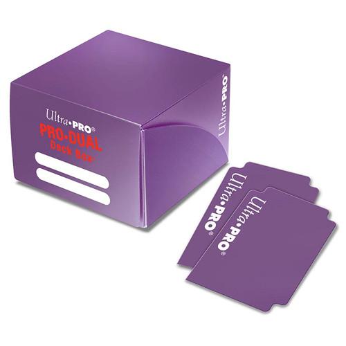 Ultra Pro Dual Deck Box: Purple