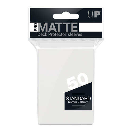 Ultra Pro Sleeves: Pro Matte - Clear (50)