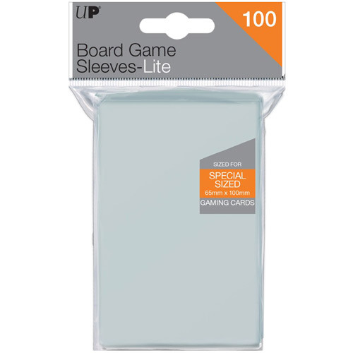 Ultra Pro Sleeves: Lite Board Game - Special Sized - 65x100mm (100)