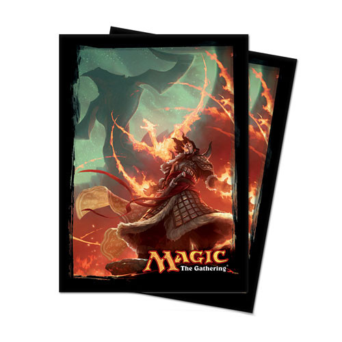 Ultra Pro Sleeves: Fate Reforged: Sarkhan Vol (80)
