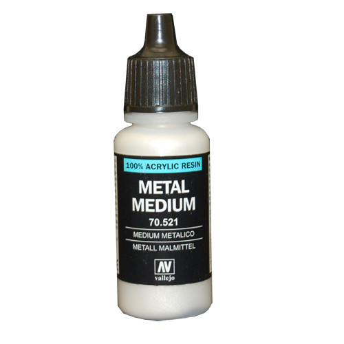 Vallejo Auxiliary Products - Metal Medium (17ml)