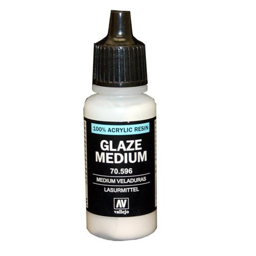 Vallejo Model Color Paint - Glaze Medium (17ml)