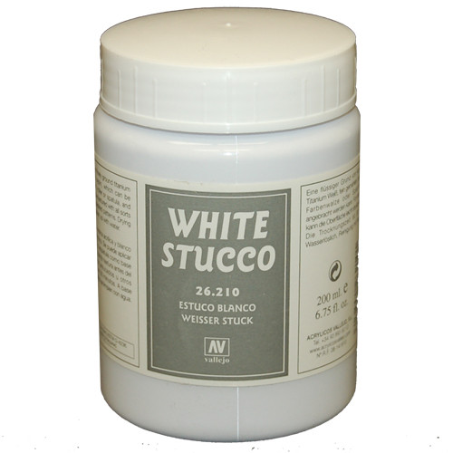 Vallejo Stone Texture: White Stucco (200ml)