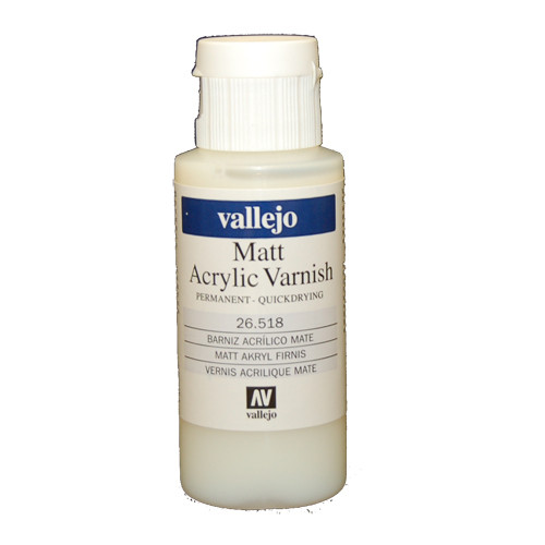 Vallejo Auxiliary Products - Matte Acrylic Varnish (60ml)