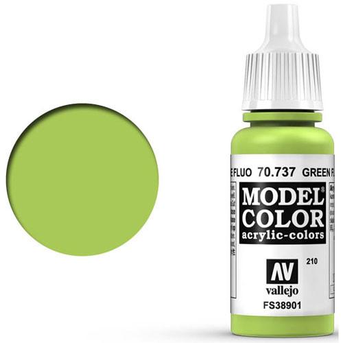 Vallejo Model Color Paint: Fluorescent Green