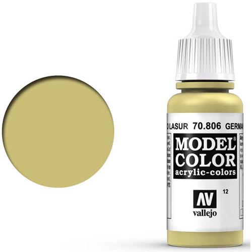Vallejo Model Color Paint: German Yellow