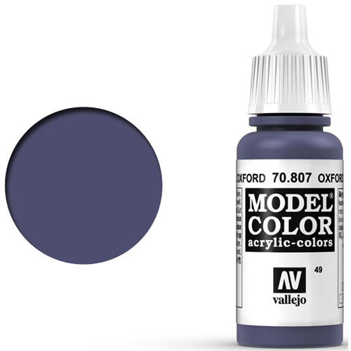 Vallejo Model Color Paint: Oxford Blue