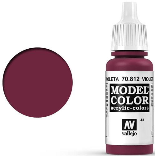 Vallejo Model Color Paint: Violet Red