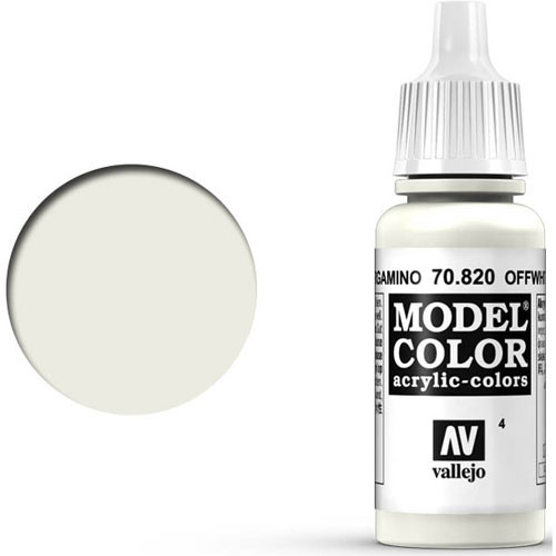 Vallejo Model Color Paint: Off-White