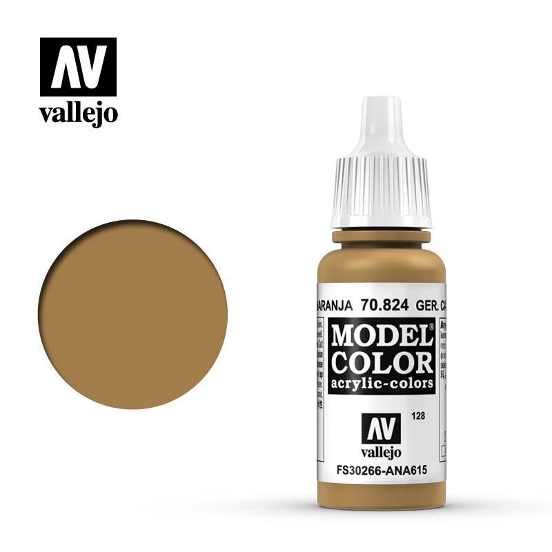 Vallejo Model Color Paint: German Camo Orange Ochre