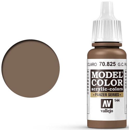 Vallejo Model Color Paint: German Camouflage Pale Brown