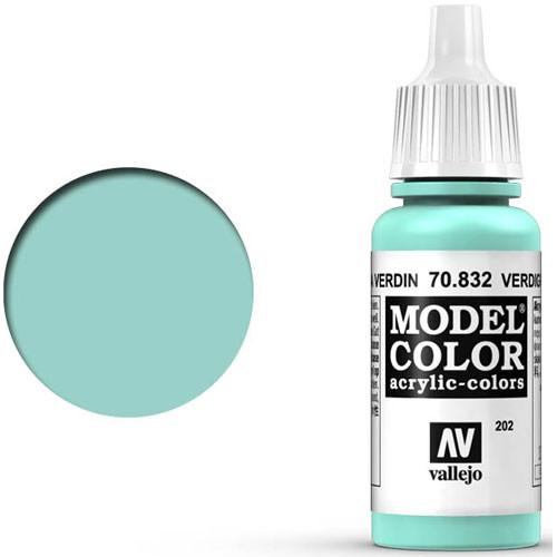 Vallejo Model Color Paint: Verdigris Glaze