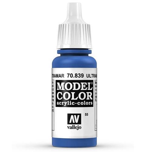 Vallejo Model Color Paint: Ultramarine