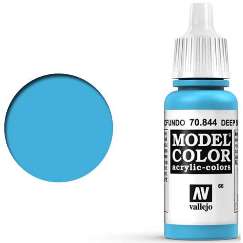 Vallejo Model Color Paint: Deep Sky Blue