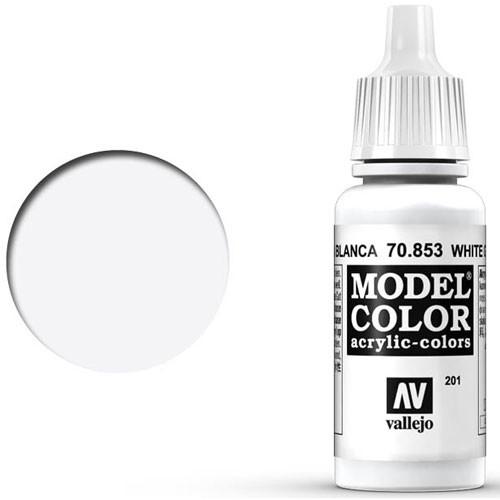 Vallejo Model Color Paint: White Glaze