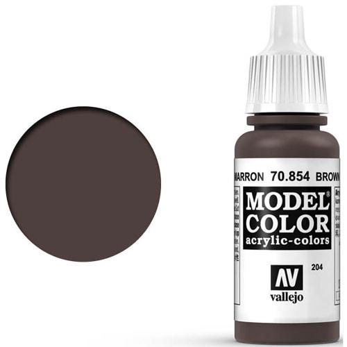 Vallejo Model Color Paint: Brown Glaze