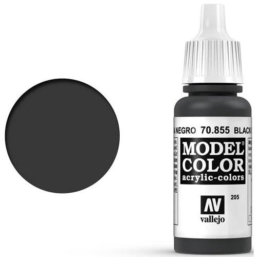 Vallejo Model Color Paint: Black Glaze