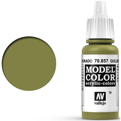 Vallejo Model Color Paint: Golden Olive